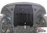 Нажмите на изображение для увеличения.  Название:Защита АвтоБРОНЯ для картера и КПП Hyundai Tucson 2015-2018. Артикул 111.02357.1 2.jpg Просмотров:23 Размер:336.4 Кб ID:6133
