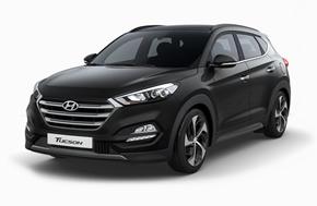 Новый Hyundai Tucson в чёрном цвете Phantom Black