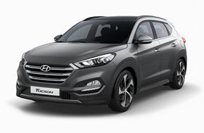 Новый Hyundai Tucson в сером цвете Thunder Gray