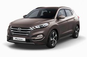 Новый Hyundai Tucson в серо-коричневом цвете Moon Rock