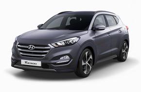 Новый Hyundai Tucson в сером цвете Micron Grey