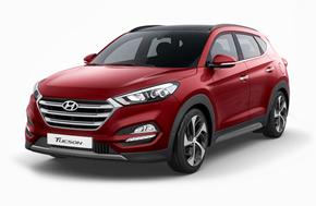 Новый Hyundai Tucson в красном цвете Ultimate Red
