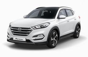 Новый Hyundai Tucson в белом цвете Polar White