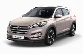 Новый Hyundai Tucson в песочном цвете White Sand