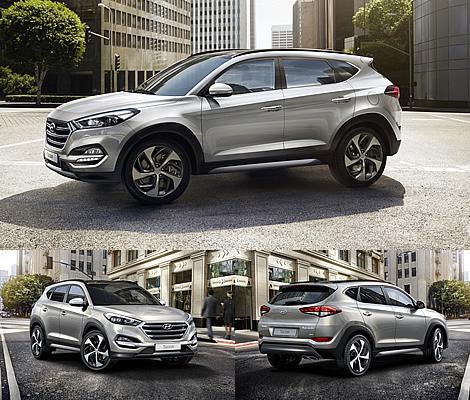 Внешний вид Hyundai Tucson
