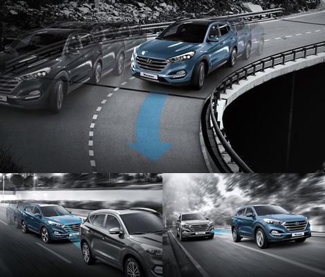 Активная и пассивная безопасность Hyundai Tucson