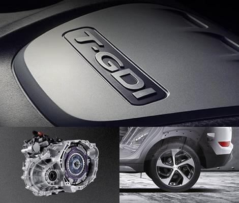 Двигатели и трансмиссия Hyundai Tucson