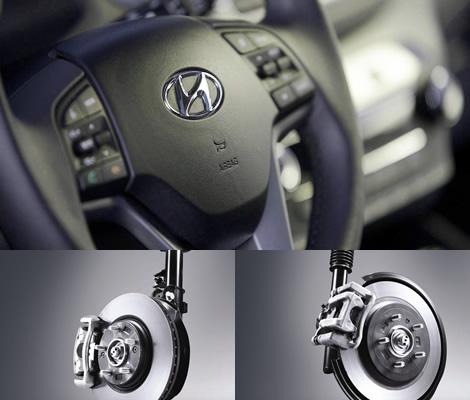 Подвеска и рулевое управление Hyundai Tucson